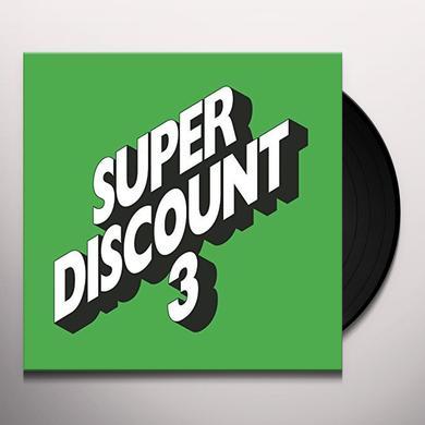 Étienne de Crécy SUPER DISCOUNT 3 Vinyl Record - Deluxe Edition