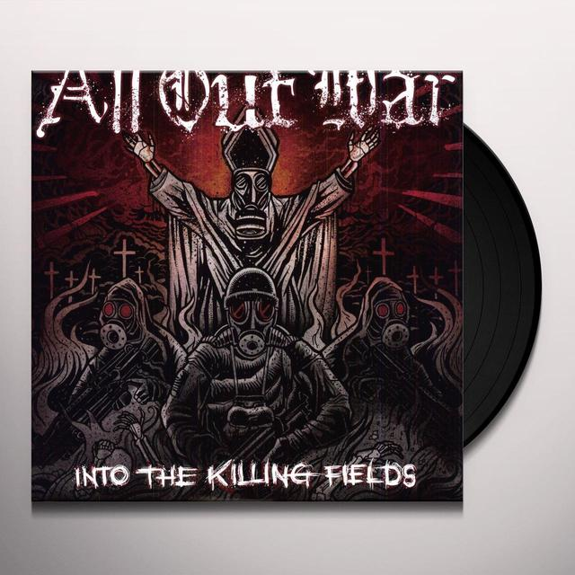 All Out War INTO THE KILLING FIELDS Vinyl Record