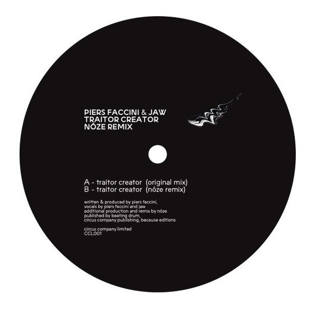 Piers Faccini / Jaw TRAITOR CREATOR (NOZE REMIX) Vinyl Record