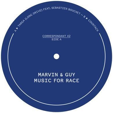 Marvin & Guy MUSIC FOR RACE Vinyl Record