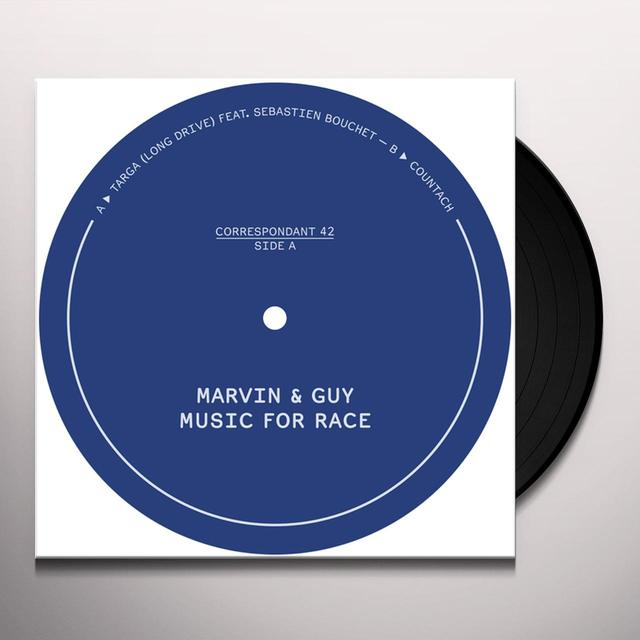 Marvin & Guy MUSIC FOR RACE Vinyl Record