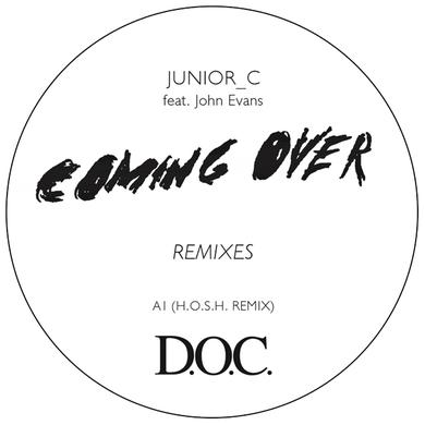 JUNIOR C COMING OVER REMIXES Vinyl Record