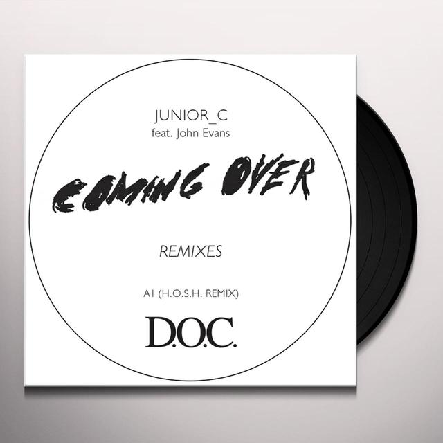 JUNIOR C COMING OVER REMIXES Vinyl Record