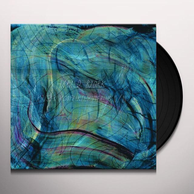 Harald Bjork KRIS & KONFLIKTHANTERING II / III Vinyl Record