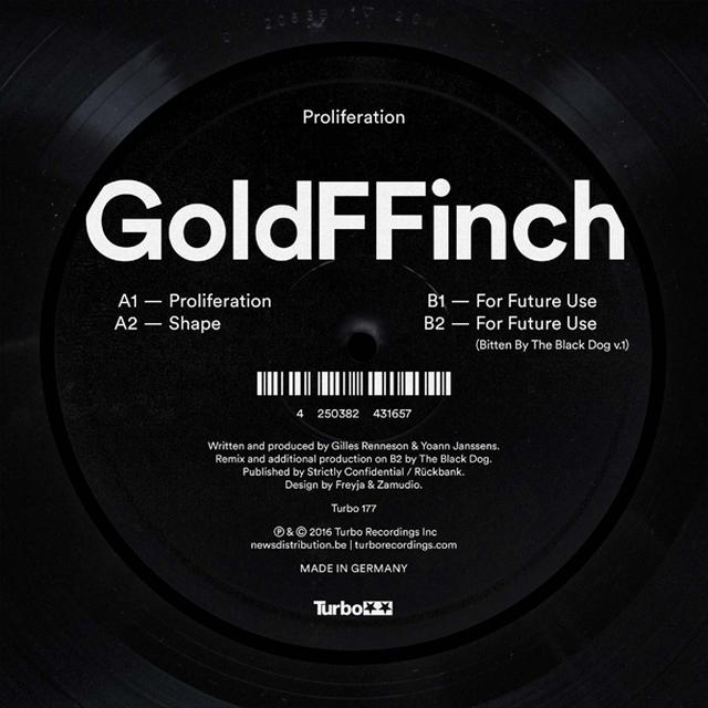 Goldffinch PROLIFERATION Vinyl Record
