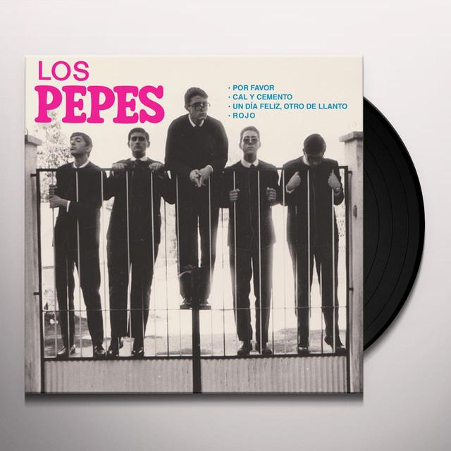 LOS PEPES POR FAVOR Vinyl Record