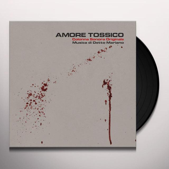 Detto Mariano AMORE TOSSICO - O.S.T. Vinyl Record - w/CD