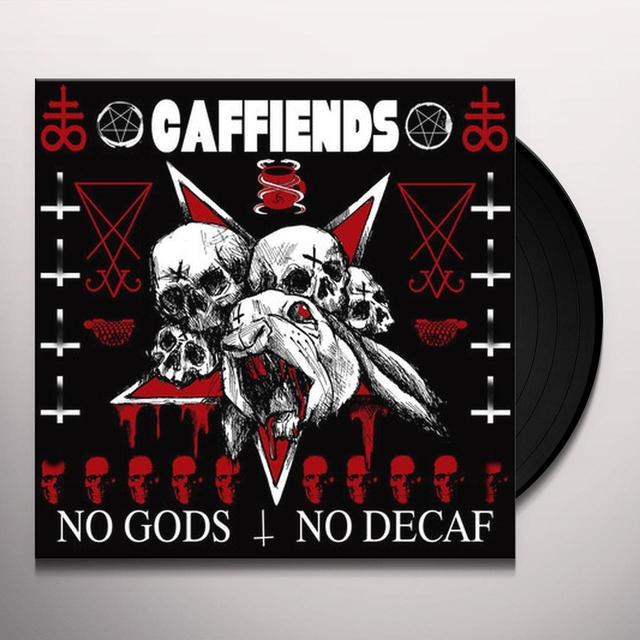 Caffiends NO GODS NO DECAF Vinyl Record - Digital Download Included