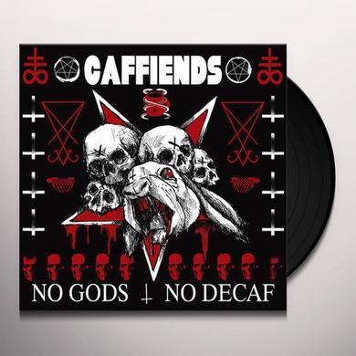 Caffiends NO GODS NO DECAF Vinyl Record - Digital Download Included