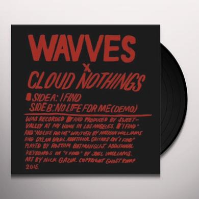 WAVVES / CLOUD NOTHINGS Vinyl Record