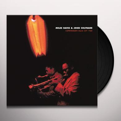 Miles Davis / John Coltrane COPENHAGEN MARCH 24TH 1960 Vinyl Record