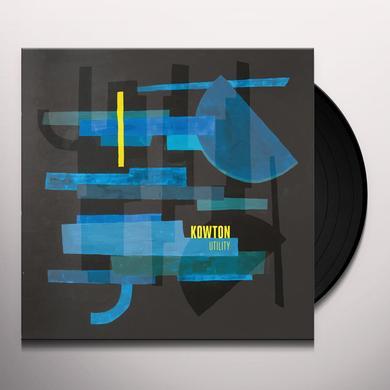 Kowton UTILITY Vinyl Record