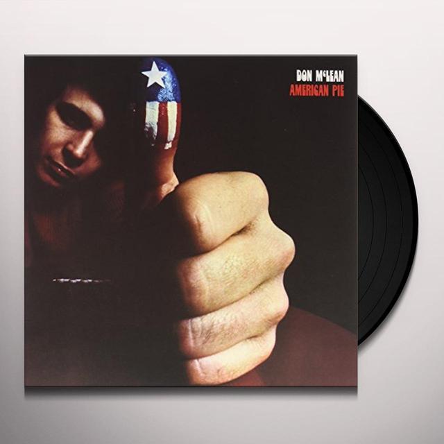 Don Mclean AMERICAN PIE Vinyl Record
