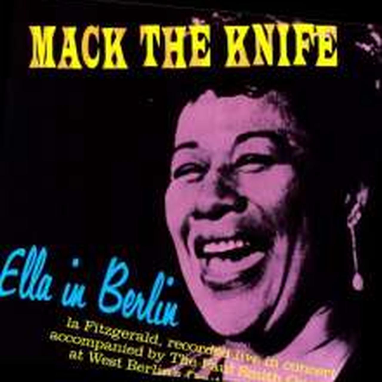 Ella Fitzgerald Mack The Knife Ella In Berlin Vinyl Record