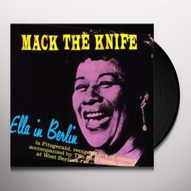 Ella Fitzgerald MACK THE KNIFE: ELLA IN BERLIN Vinyl Record - 180 Gram Pressing