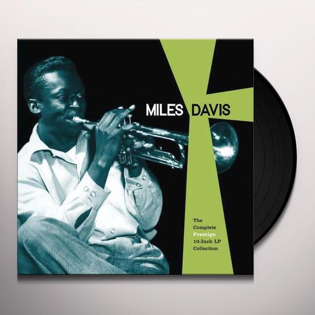 Miles Davis COMPLETE PRESTIGE 10-INCH LP COLLECTION Vinyl Record