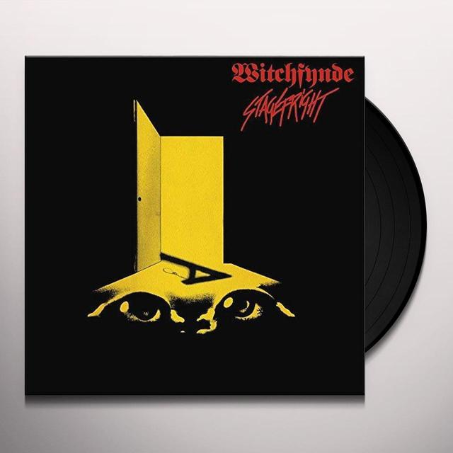 Witchfynde STAGE FRIGHT Vinyl Record