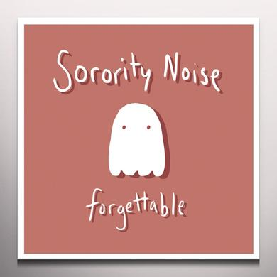 Sorority Noise FORGETTABLE Vinyl Record - Colored Vinyl
