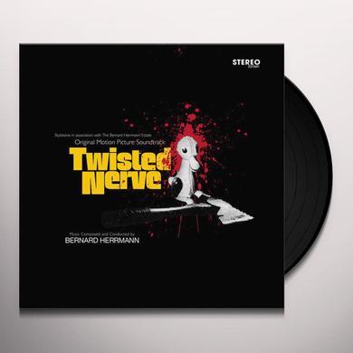 Bernard Herrmann TWISTED NERVE / O.S.T.    (WSV) Vinyl Record - w/CD, Black Vinyl, Gatefold Sleeve