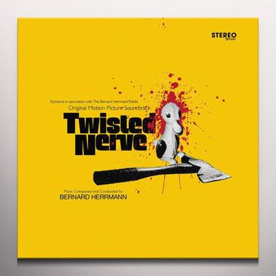 Bernard Herrmann TWISTED NERVE / O.S.T.   (WSV) Vinyl Record - w/CD, Gatefold Sleeve, Yellow Vinyl