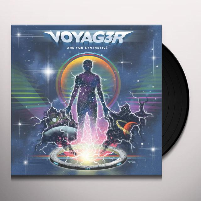 VOYAG3R ARE YOU SYNTHETIC? Vinyl Record