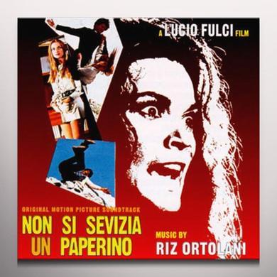 Riz Ortolani NON SI SEVIZIA UN PAPERINO / O.S.T. Vinyl Record - Colored Vinyl, Clear Vinyl
