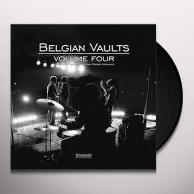 BELGIAN VAULTS 4 / VARIOUS (W/CD) BELGIAN VAULTS 4 / VARIOUS Vinyl Record - w/CD