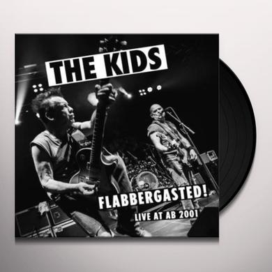 Kids FLABBERGASTED (LIVE AT AB 2001) Vinyl Record - Limited Edition, 180 Gram Pressing