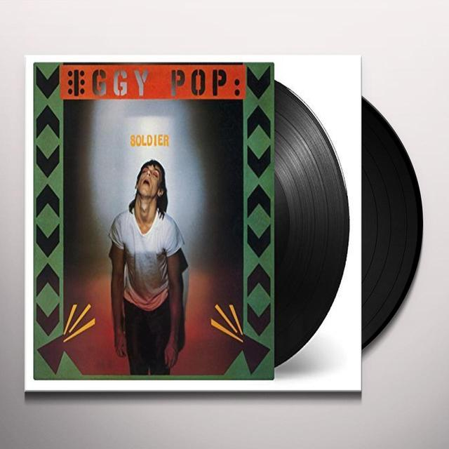 Iggy Pop SOLDIER Vinyl Record - Holland Import