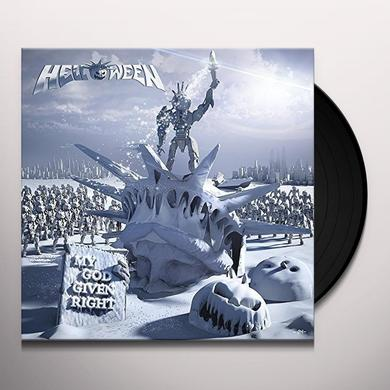 Helloween MY GOD-GIVEN RIGHT Vinyl Record - Holland Import