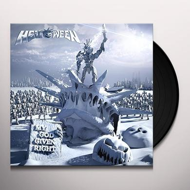 Helloween MY GOD-GIVEN RIGHT (PICTURE DISC) Vinyl Record - Picture Disc, Holland Import