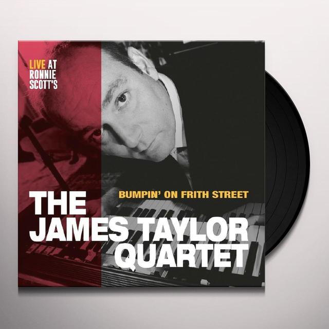 James Taylor BUMPIN' ON FRITH STREET Vinyl Record
