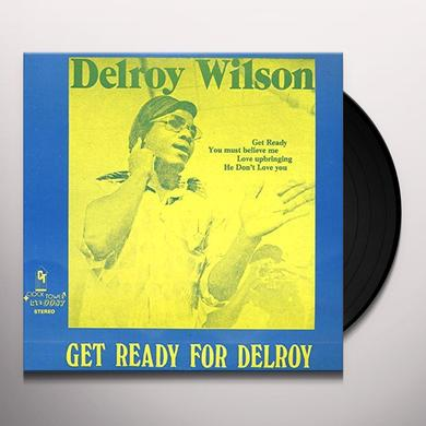 Delroy Wilson GET READY FOR DELROY Vinyl Record