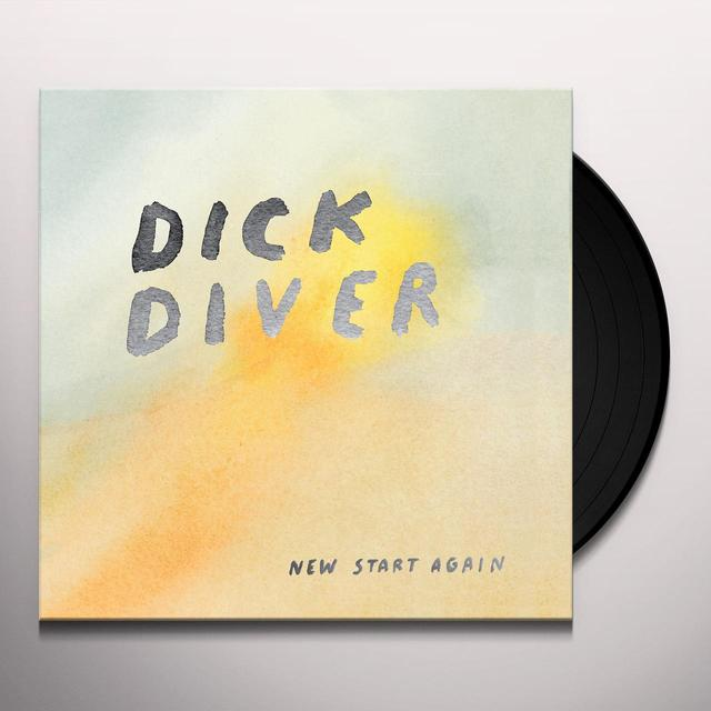Dick Diver NEW START AGAIN Vinyl Record