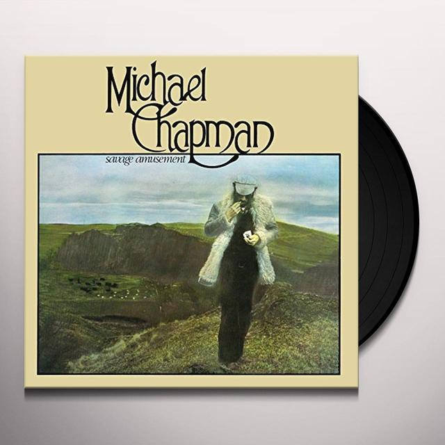 Michael Chapman SAVAGE AMUSEMENT Vinyl Record - 180 Gram Pressing