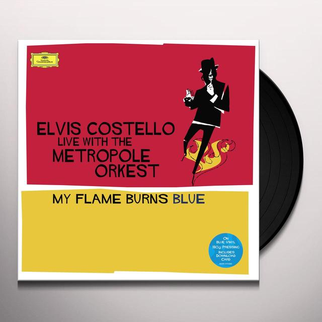 Elvis Costello MY FLAME BURNS BLUE Vinyl Record