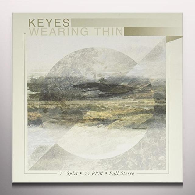 KEYES / WEARING THIN - SPLIT EP  (EP) Vinyl Record - Colored Vinyl, White Vinyl