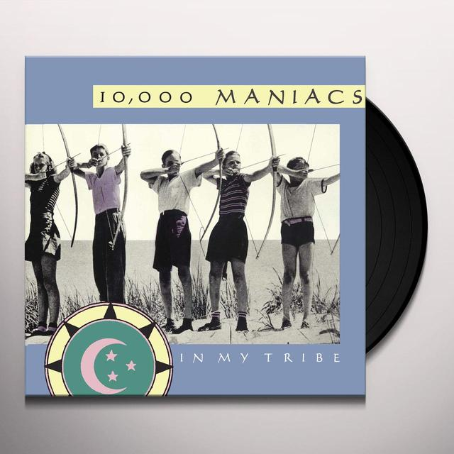 10 000 Maniacs IN MY TRIBE Vinyl Record - 180 Gram Pressing