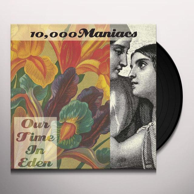 10 000 Maniacs OUR TIME IN EDEN Vinyl Record