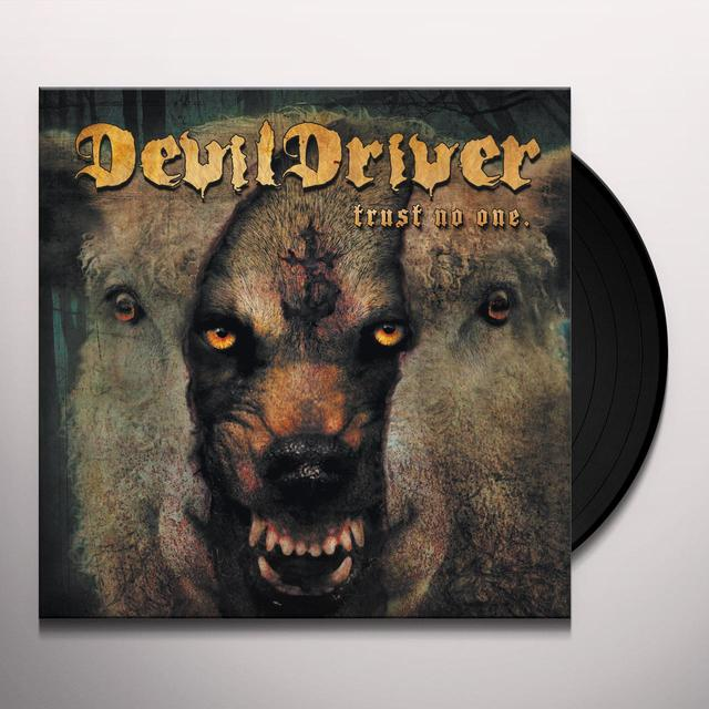 Devildriver TRUST NO ONE Vinyl Record - Digital Download Included