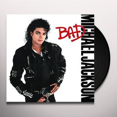 Jackson,Michael BAD Vinyl Record - Gatefold Sleeve