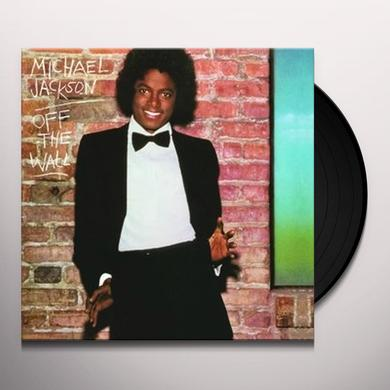 Jackson,Michael OFF THE WALL Vinyl Record - Gatefold Sleeve