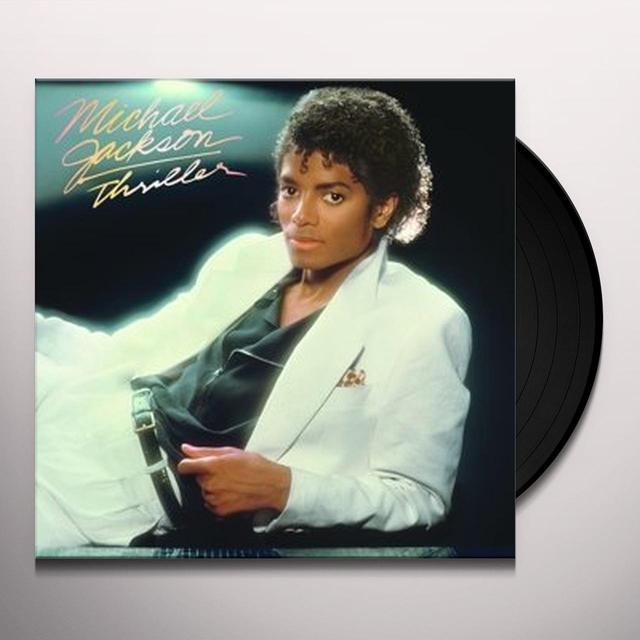 Jackson,Michael THRILLER Vinyl Record - Gatefold Sleeve