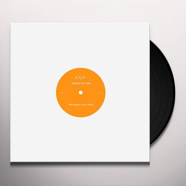 Kauf THROUGH THE YARD (FORT ROMEAU REMIXES) Vinyl Record