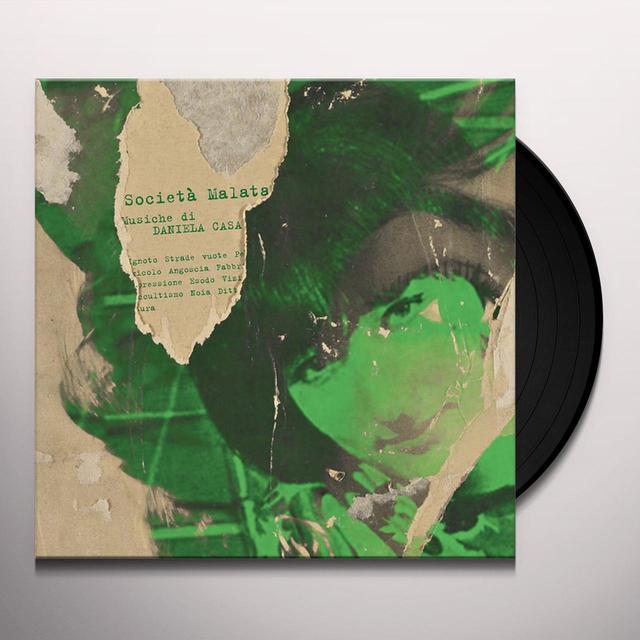 Daniela Casa SOCIETA MALATA Vinyl Record