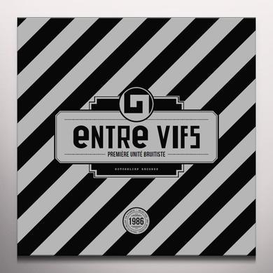 ENTRE VIFS PREMIERE UNITE BRUITISTE Vinyl Record - Colored Vinyl, Red Vinyl
