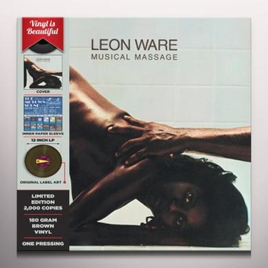 Leon Ware MUSICAL MASSAGE Vinyl Record