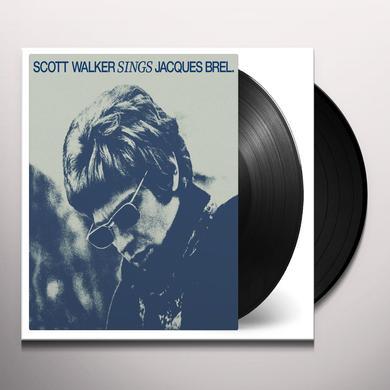Scott Walker SINGS JACQUES BREL Vinyl Record - Holland Import