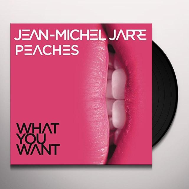 Jean Michel Jarre WHAT YOU WANT Vinyl Record - UK Import