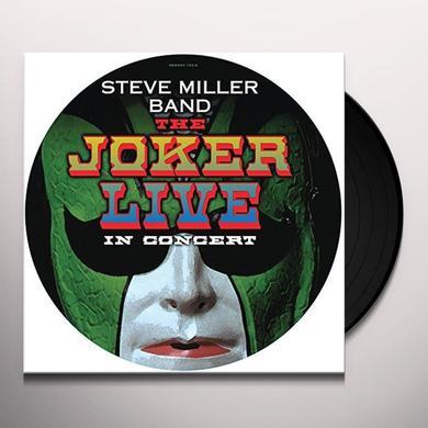 Steve Miller Band JOKER LIVE Vinyl Record - Picture Disc, UK Import